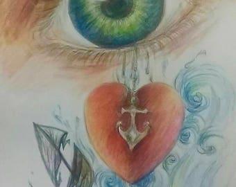 In the Eye Art Print