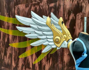 Wings Mercy Winged Victory  skin from Overwatch  Cosplay Craft Props