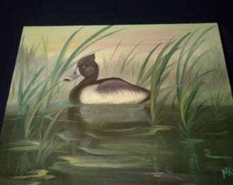 Duck Canvas panting
