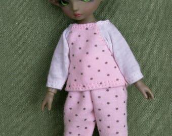 Pajama for a BJD doll 15 cm