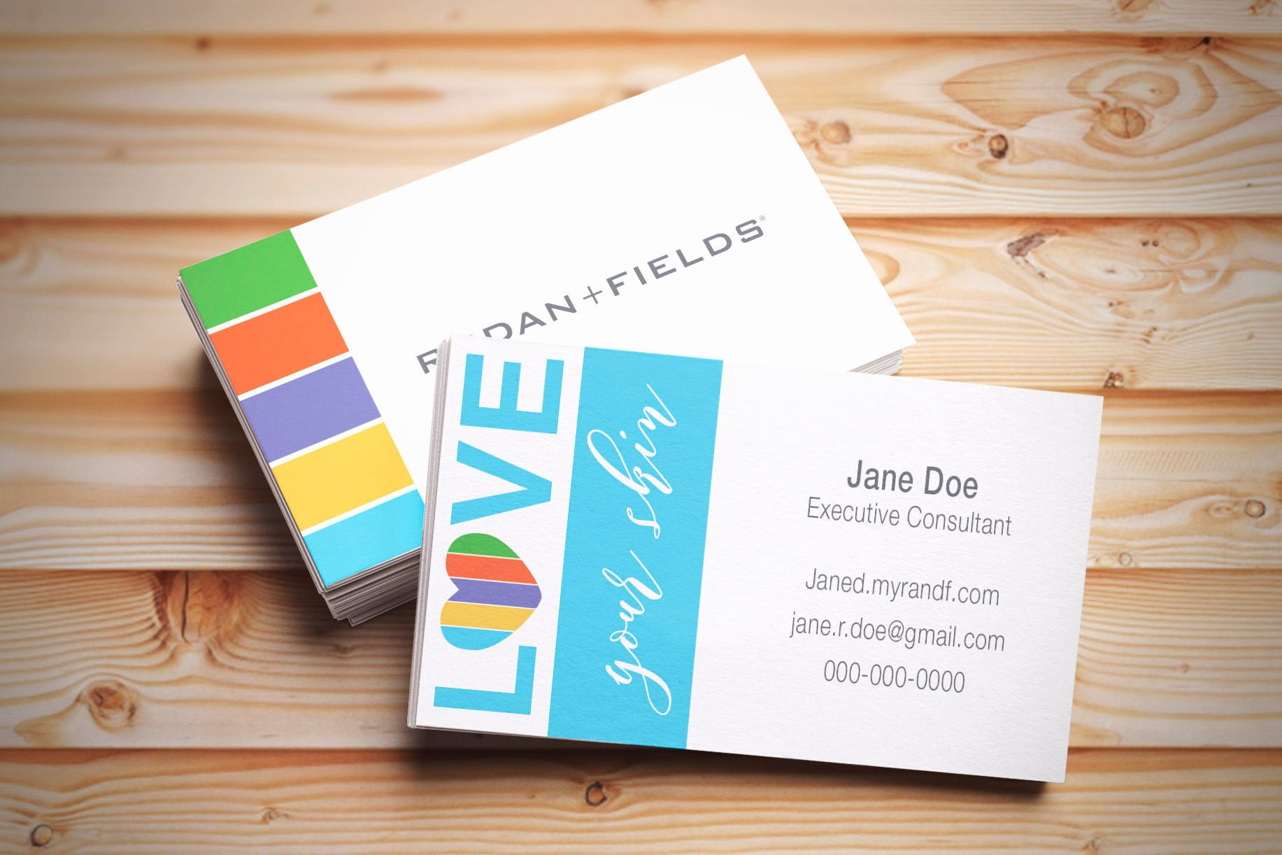 custom business cards rodan and fields consultant