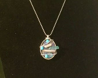 OCEAN WAVES pendant
