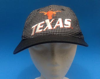 Vintage Texas Longhorns Adjustable Strapback Hat 1990s