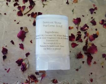 Sensual Rose Perfume Solid