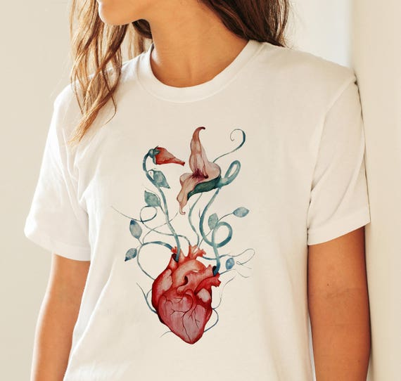 Pink Floyd Love Flowers | Unisex T-shirt | Apparel | Women / Men Clothing | Personalized T-shirt | The wall | Psychedelic | Graphic Tee |