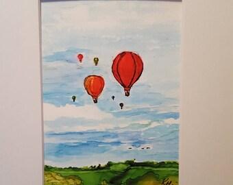 Ballooning Over Texas
