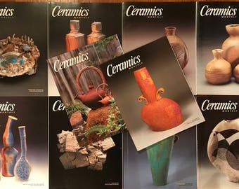 Ceramics Monthly Magazines - Full Year (10 Issues) from 2004