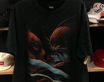 Marvel Deadpool Vs Wolverine shirt