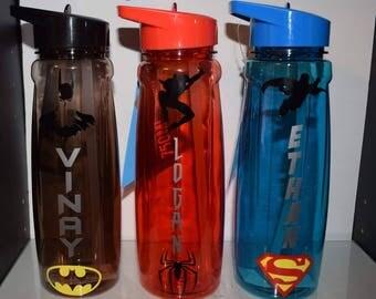Personalised Superhero Bottle