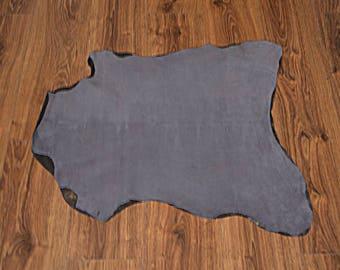 Medium gray velvet leather skin (9402693)