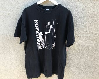 Vintage 1990's BAD RELIGION Punk Rock T-Shirt