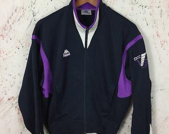 Vintage 90s Kappa Track Trainer Jacket M Sport
