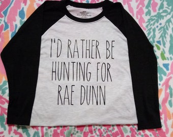 Rae Dunn Baseball Tee