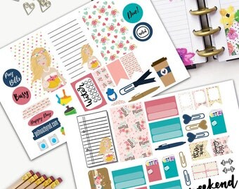 Mothers Day Customize Theme Planner Weekly Sticker SMALL Kit, CLASSIC Happy Planner Sticker, Weekly Set, Stickers, Printed, Cut, Customize