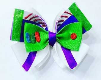 Toy Story Buzz Lightyear Hair Bow