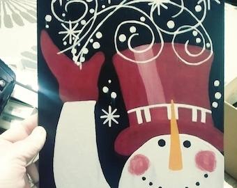 Merry Christmas Wall/Door Hanger