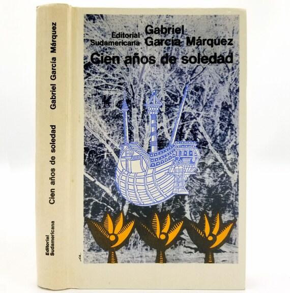 Cien Anos de Soledad Gabriel Garcia Marquez HC 1971 Early Printing Editorial Sudamericana Spanish Language