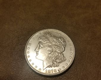 1878 S  DMPL Morgan silver dollar !!!