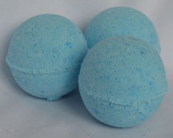 3 Eucalyptus medium bath bombs