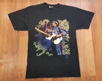 Vintage Jimi Hendrix Shirt, 90's Jimi Hendrix Tee, Vintage Rock T-shirt, Size M