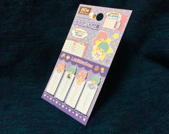 Little Twin Stars Sticky notes - Sanrio Page Markers