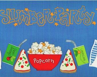 Slumber Party Title Over-alls Page Topper 6x12 Title Scrapbooking Scrapbooks Ek Success Embellishments Cardmaking Crafts