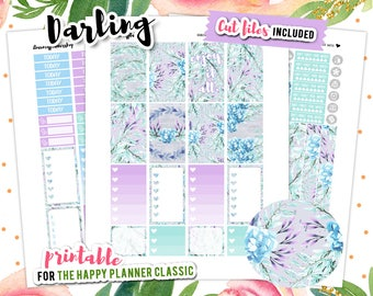Happy Planner Stickers, July Weekly Kit, Summer Planner Stickers, Floral Planner Stickers, Flower Stickers, Floral Stickers