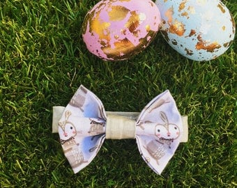 Newborn/Infant Bow Tie - 'Bow tie Bunnies'