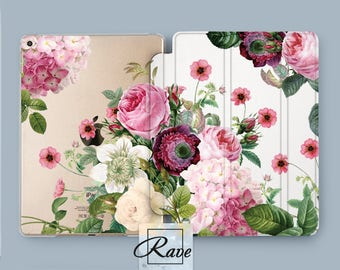flower iPad case ipad floral cover ipad pro case 10.5 ipad air 2 iPad mini case ipad 9 7 pro case tropical ipad case ipad smart case ipad
