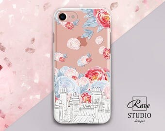 Floral iPhone 7 case Building print City iPhone 7 plus case Rose iPhone 5 case Name iPhone 8 case iPhones 6s cases iPhone8 iPhone 5s cover