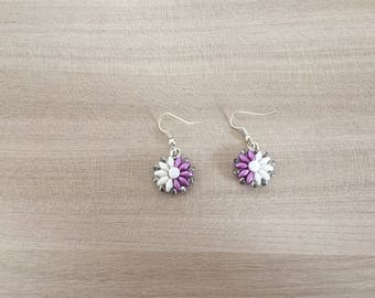 Hypnotic Beaded Earrings