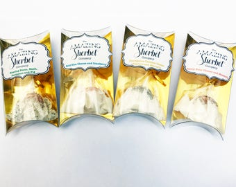 Set of 4 Limited Edition Cheese Flavoured Sherbets - created for London Food Month