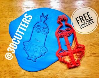 Minions Cookie Cutter