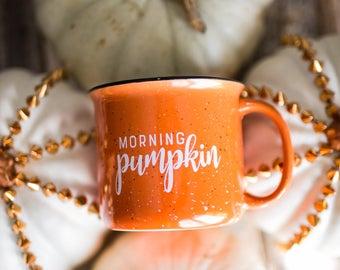 FALL SALE | Morning Pumpkin  |  Southern Style Coffee Mug | Fall Mug