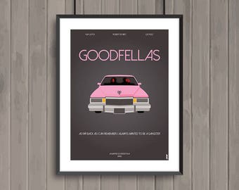 GOODFELLAS, minimalist movie poster