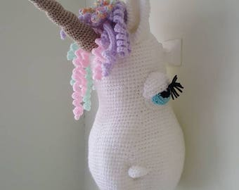 Unicorn head.