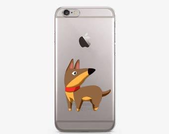 Dog iPhone 8 Plus Case iPhone X Case iPhone 7 Case iPhone 8 Case iPhone 7 Plus Case Samsung S8 Case Samsung Note 8 Case Clear Case AC1215