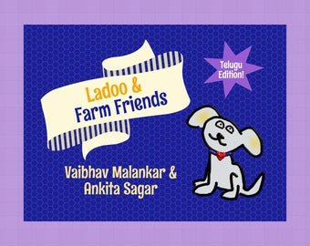 Telugu Edition | LadooBook: Farm Friends! Teach Telugu to your kids! Great gift for young readers!