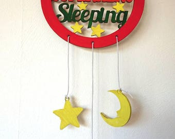 Dream Catcher//Superhero//Kids//Nursery//Wooden//Feathers//Stars//Moon//Clouds//Custom Colours//Made to Order//Personalised//Room Decor