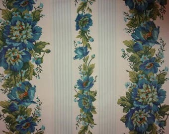 beautiful fabric old garlands of flowers *.