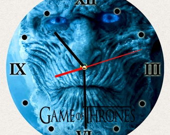 THE BEST Wall Clock Game of Thrones, Best Gift for Home Decor