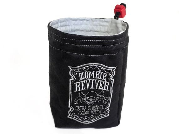Dice Bag - Apothecary Zombie Reviver
