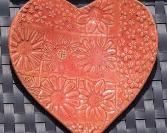 Ceramic handmade spoon rest