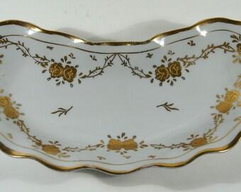 Vintage Lenwile China Ardalt Bone Dish Japan Hand Painted