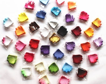 1000~5000pcs Various Colors Silk Flower Rose Petals Wedding Party Decorations (US ONLY)