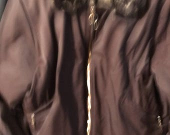 Authentic Louis Vuitton Bomber Coat