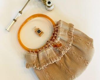 Vintage Hagewood Handloomed Handbag