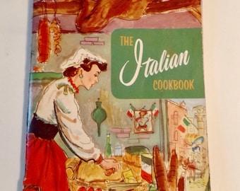 The Italian Cookbook Culinary Arts Institute Recipes Retro Nostalgia Vintage 1953