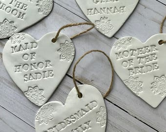 Unique Personalized Bridesmaid Gift - Gift Ideas For Maid Of Honor and Bridesmaids - Gift For Bridesmaids Pinterest - Bridesmaid Ornament