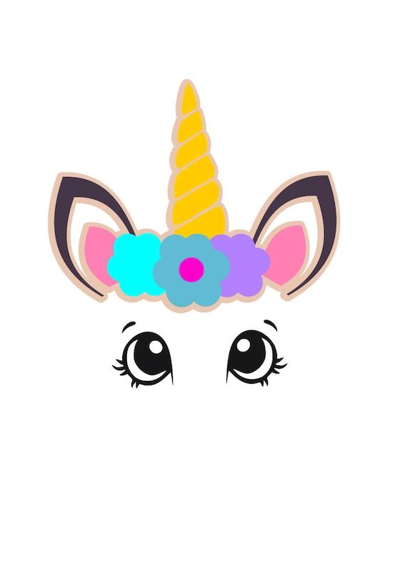 Unicorn Svg Magical Horse Svg Unicorn Head Ice Cream